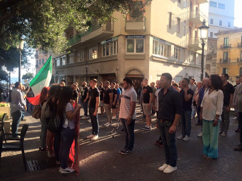 Cpi a Salerno per Carlo Falvella
