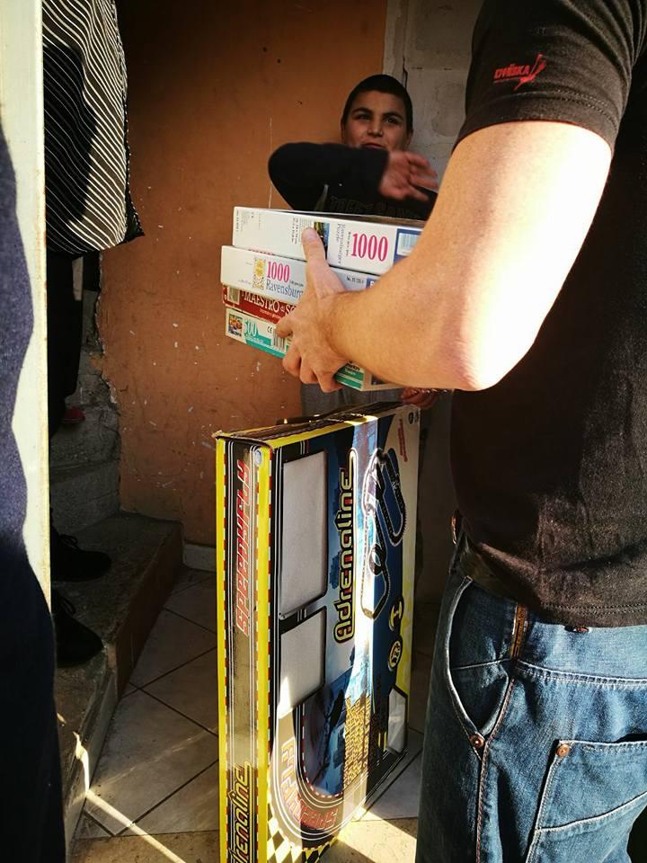 Cpi donazione giochi a casafamiglia ad Acerra